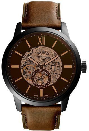 fossil montre mecanique