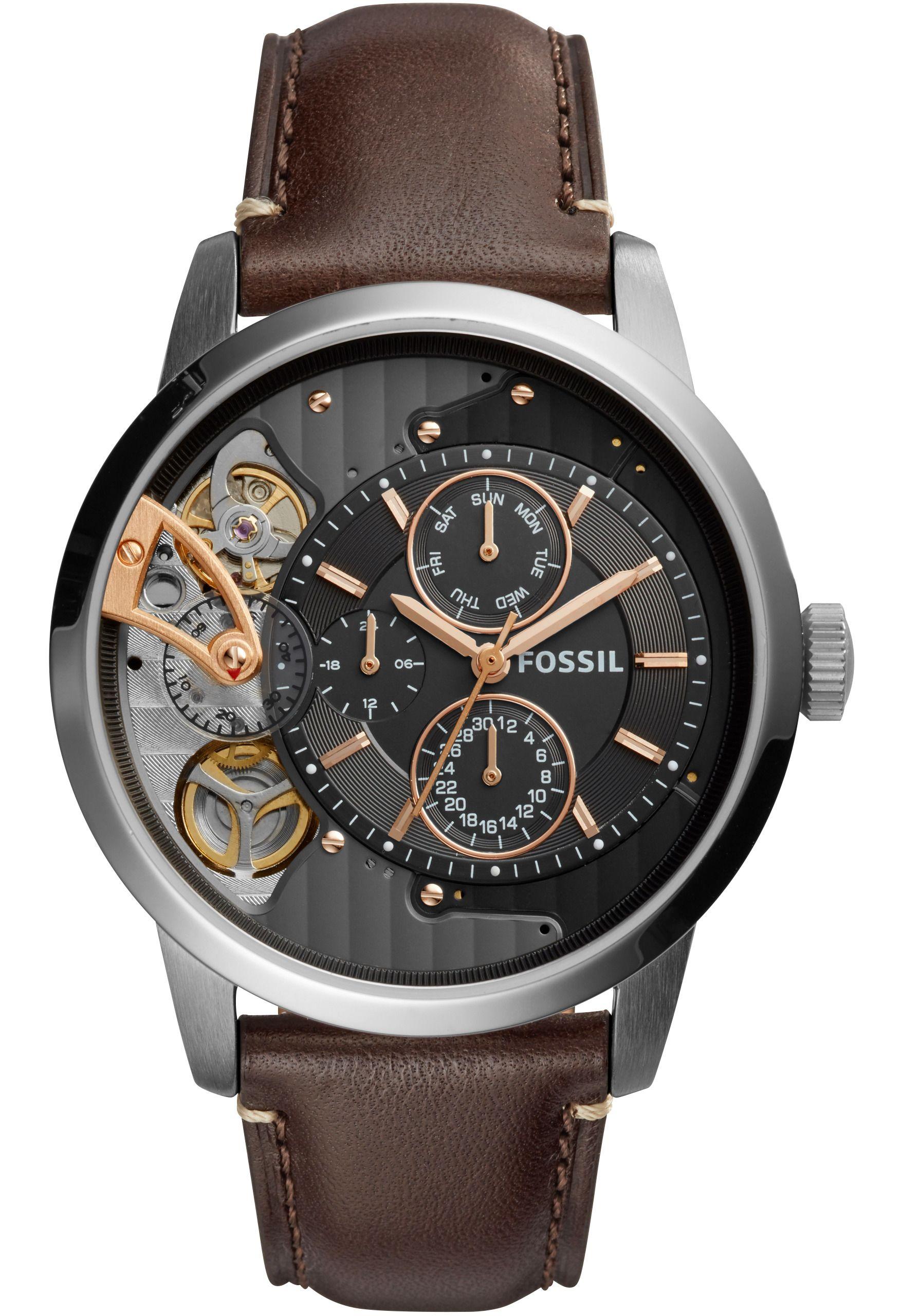 fossil montre squelette