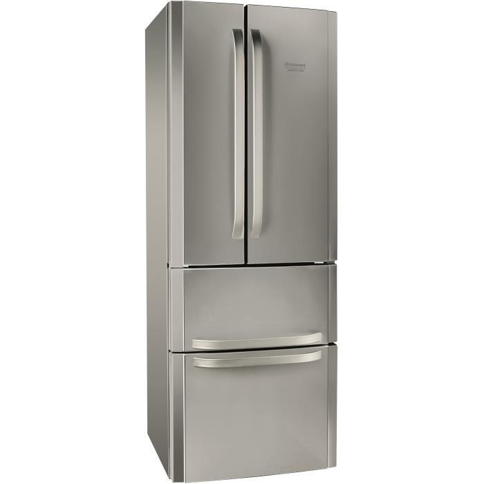 frigo congelateur inox pas cher