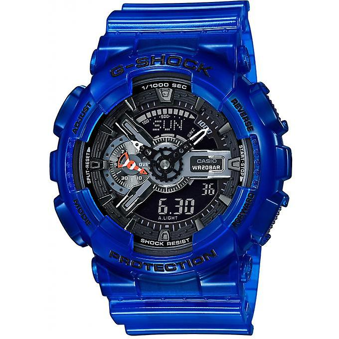 g shock bleu