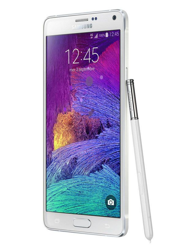 galaxy note 4 blanc pas cher