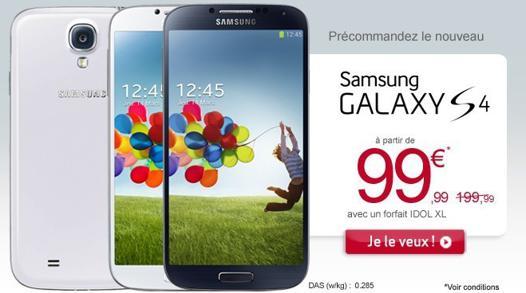 galaxy s4 prix occasion