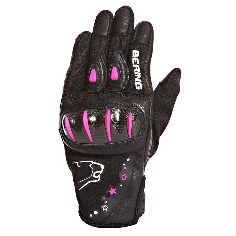 gant de moto femme