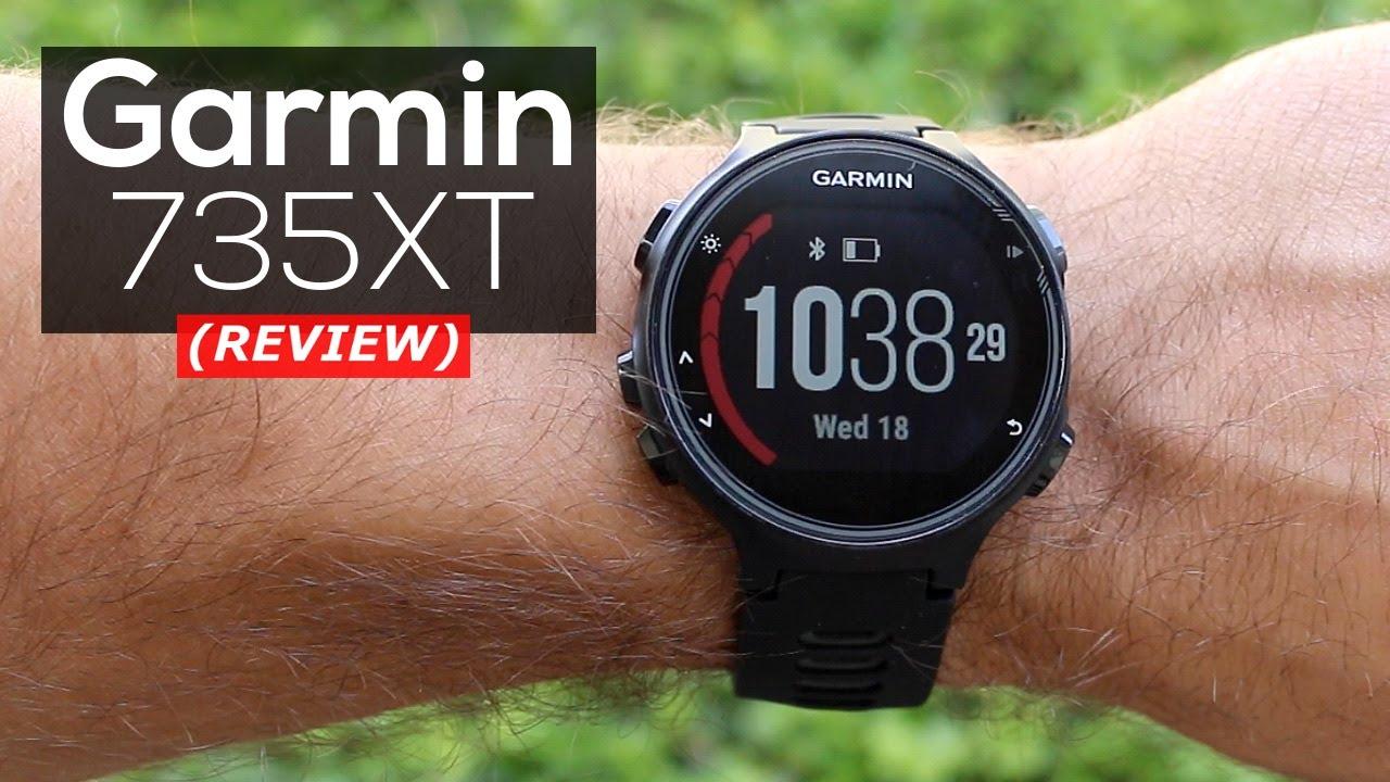 garmin 735xt test