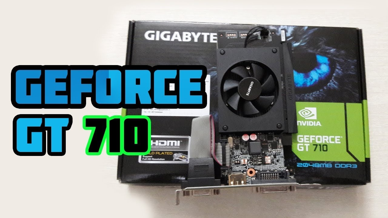 geforce gt 710 test