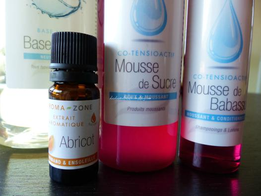 gel douche maison qui mousse