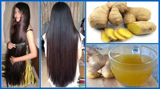 gingembre et cheveux