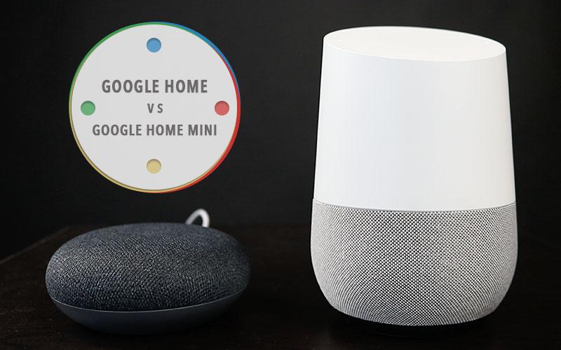 google home comparatif