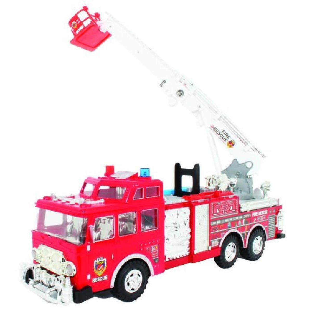grand camion de pompier jouet