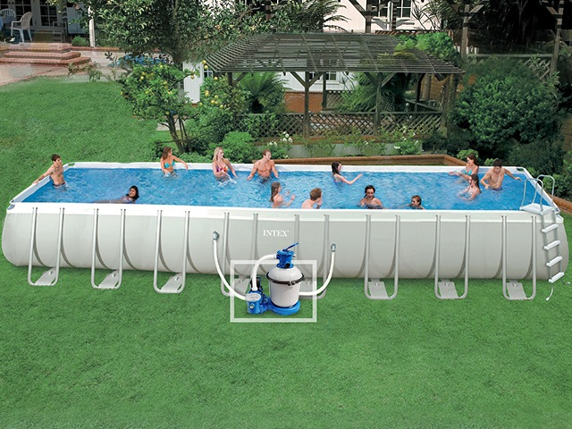 grande piscine hors sol intex