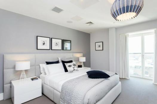 gris clair chambre