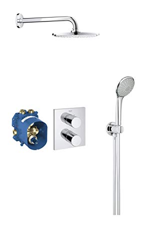 grohe douche encastrable