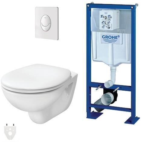 grohe toilette suspendu