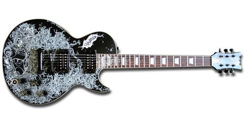 guitare electrique personnalisée