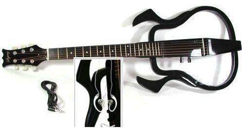 guitare electro acoustique silencieuse