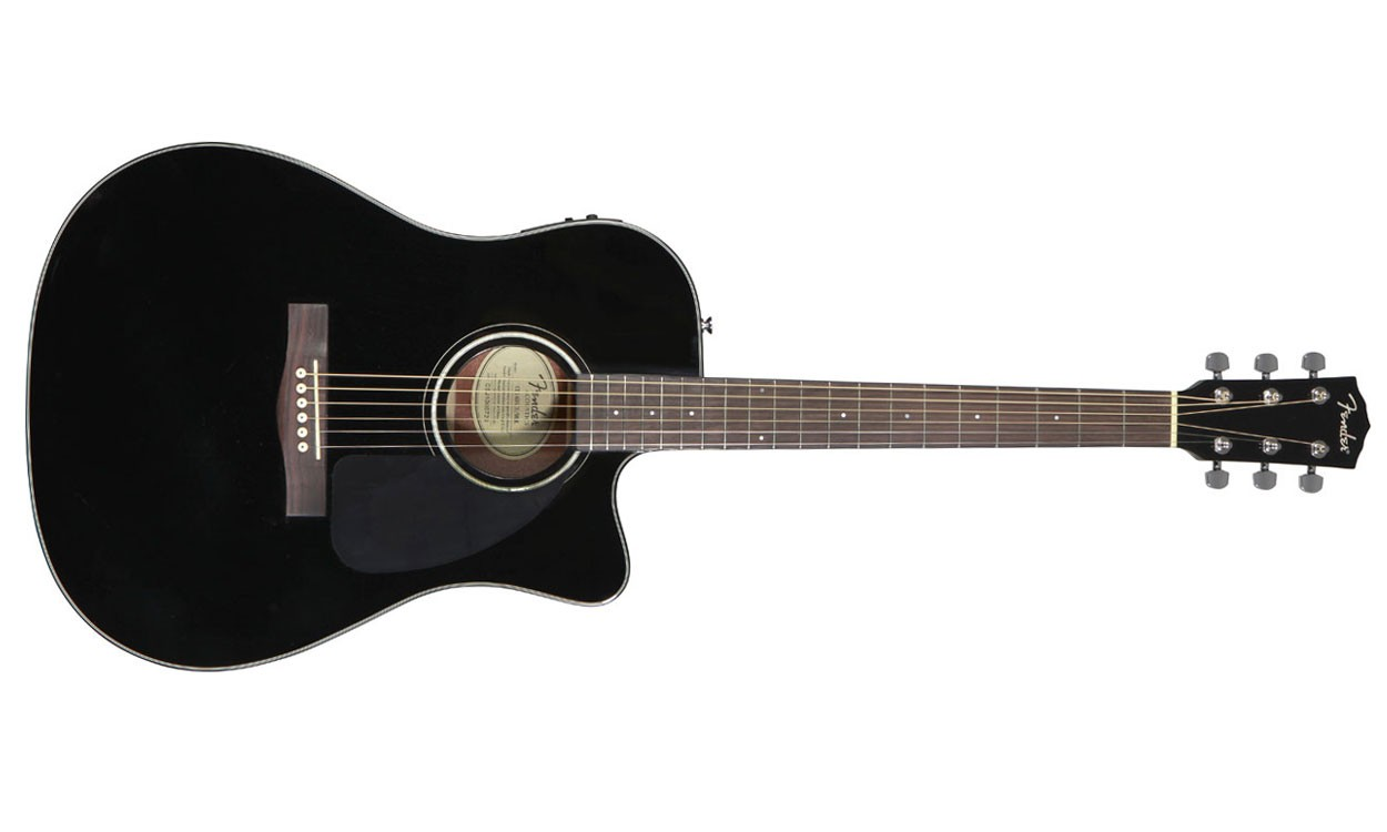 guitare folk electro acoustique fender