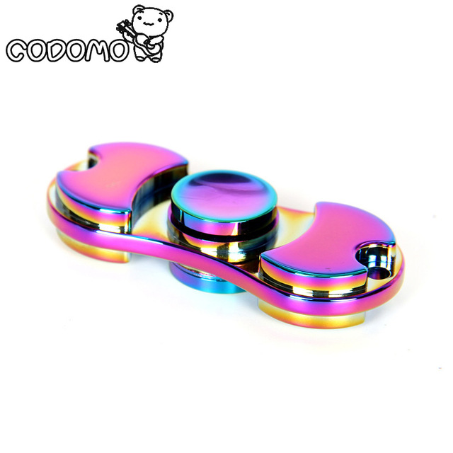 hand spinner metal multicolor