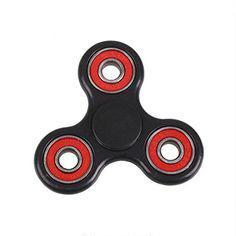 hand spinner noir et rouge