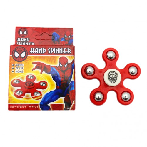 hand spinner spiderman