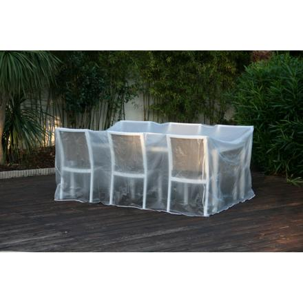 housse table jardin rectangulaire