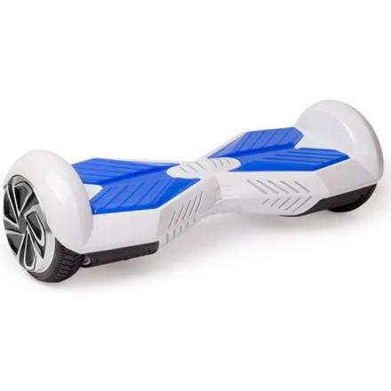 hoverboard blanc et bleu