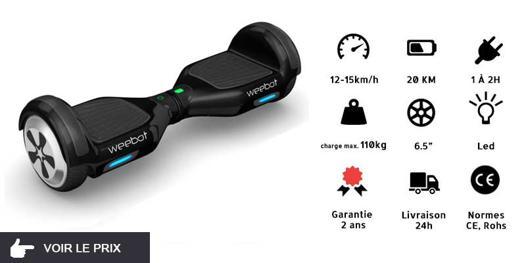 hoverboard vitesse