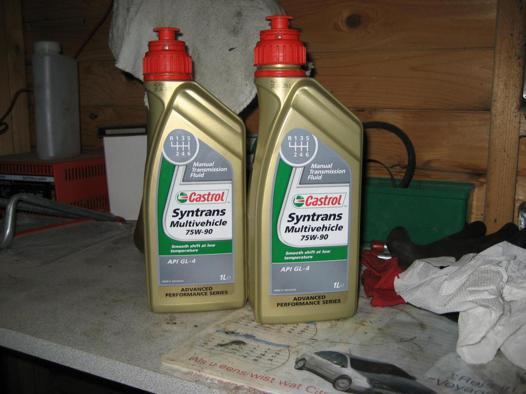 huile boite à vitesse