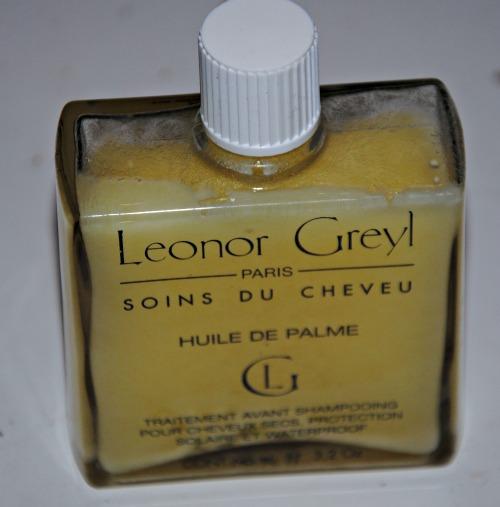 huile de palme et cheveux