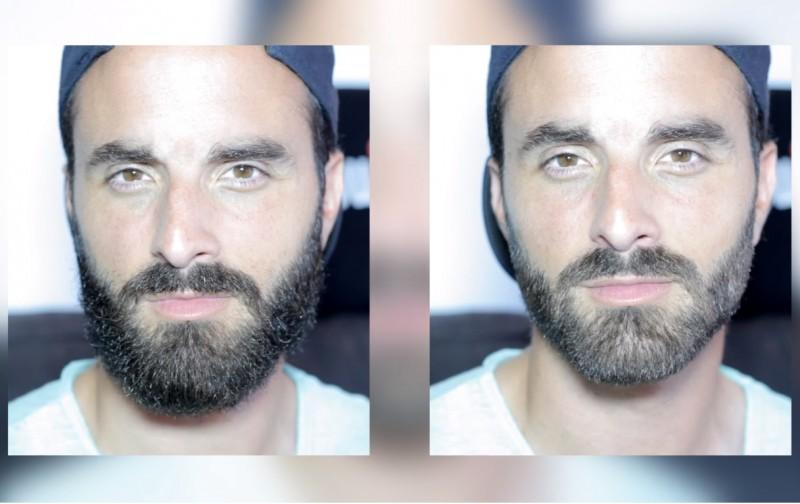 huile de ricin barbe resultat