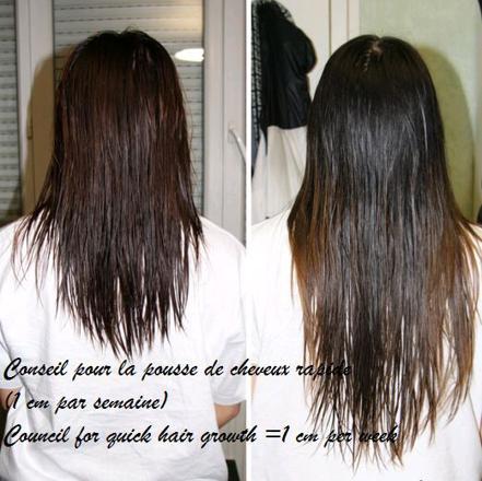 huile de ricin pousse de cheveux