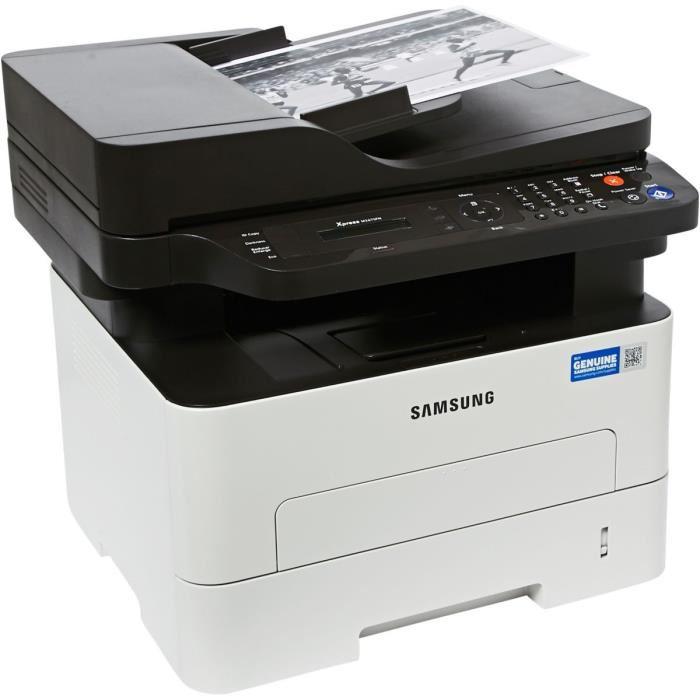 imprimante scanner laser noir et blanc