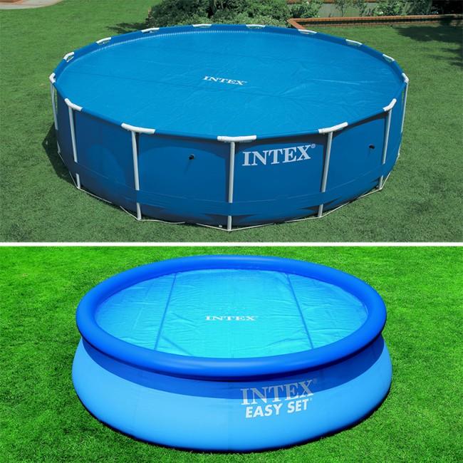 intex bache piscine