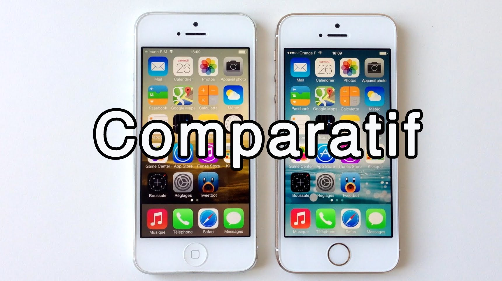 iphone 5 et 5s