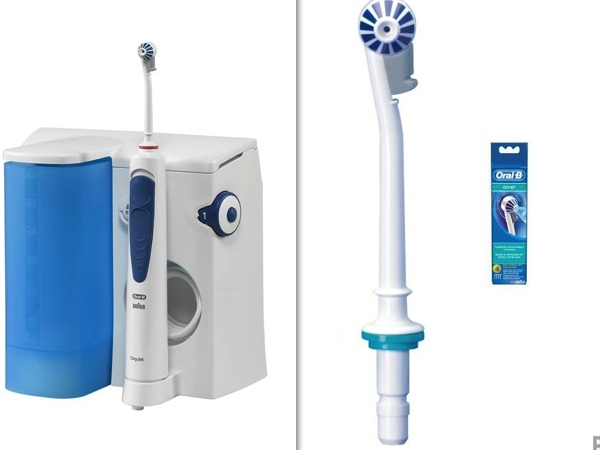 jet pour nettoyer les dents