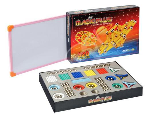 jeu de construction magnétique magic plus