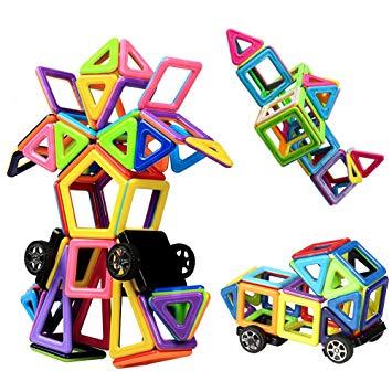 jeu magnetique de construction