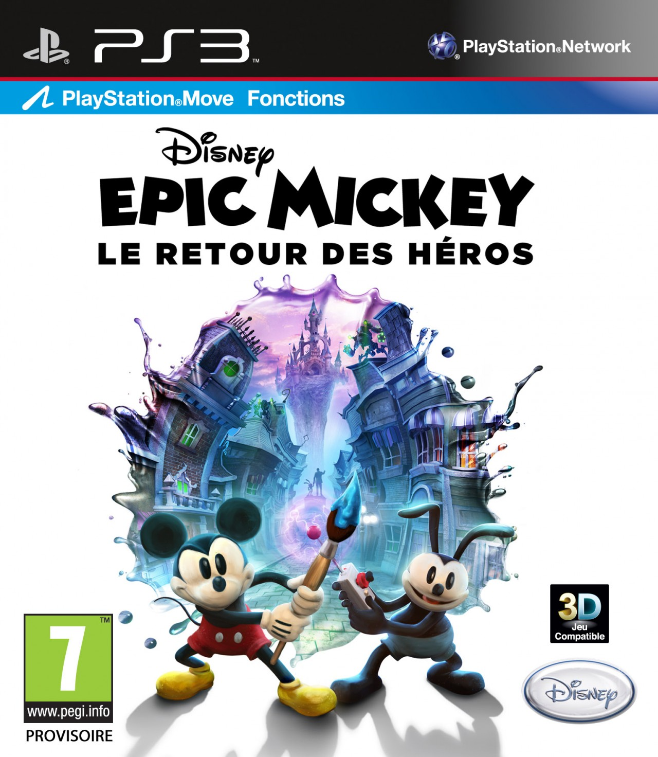 jeux ps3 mickey