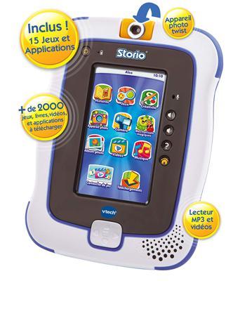 jeux tablette storio 3