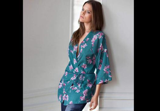 kimono peignoir femme
