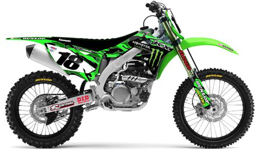 kit plastique moto cross