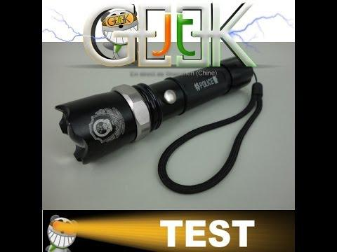 lampe torche led test