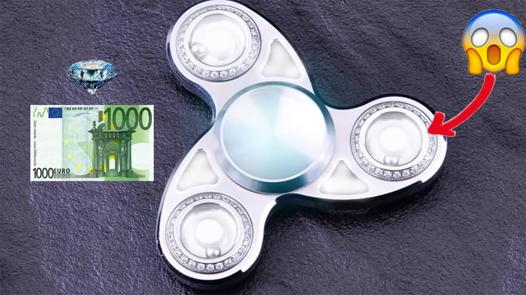 le plus cher hand spinner