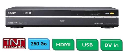 lecteur enregistreur dvd avec disque dur
