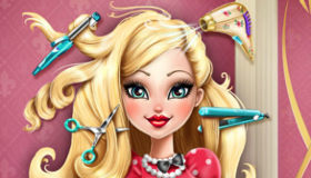 les jeux de fille coiffure