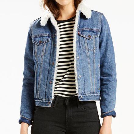 levi's veste en jean femme