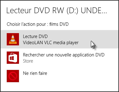 lire dvd windows 10