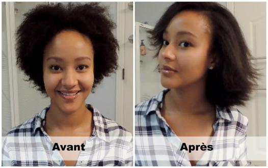 lisser cheveux crépus