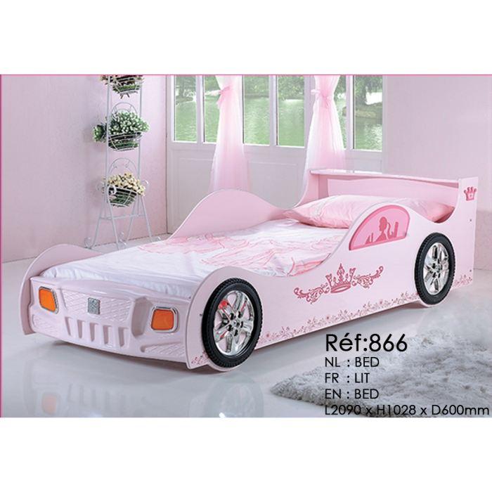 lit voiture fille pas cher
