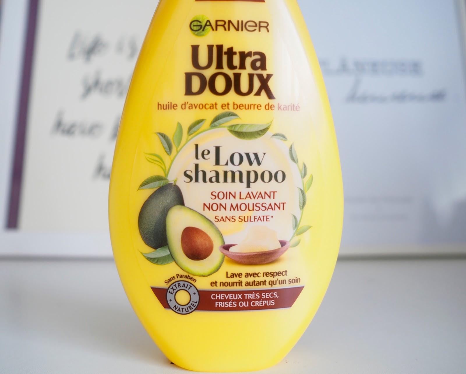 low shampoo garnier