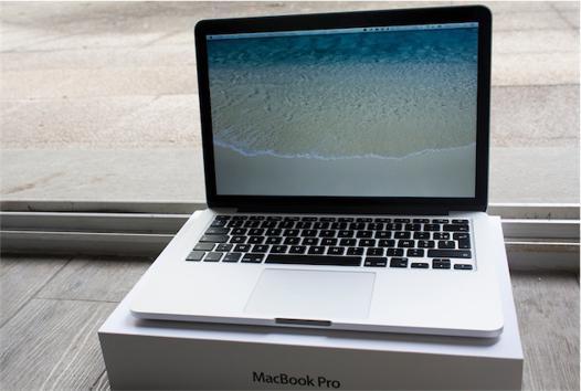 macbook pro 13 pouces 2014